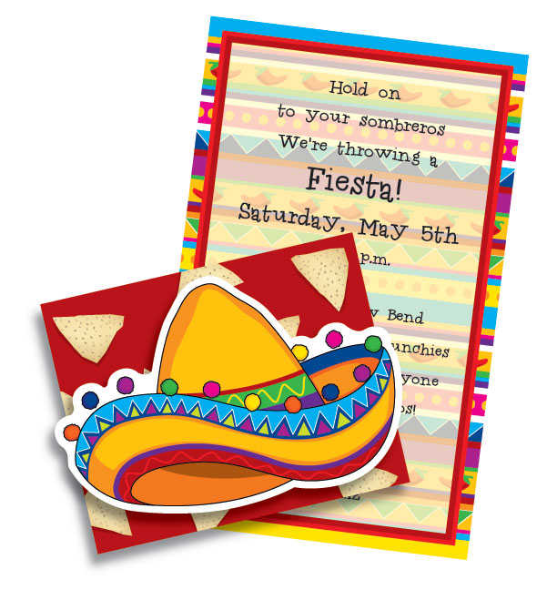 Fiesta Invitation Wording with awesome invitation example