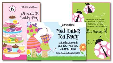 Birthday Invitation Wording Ideas – Birthday Party Invitation Cards