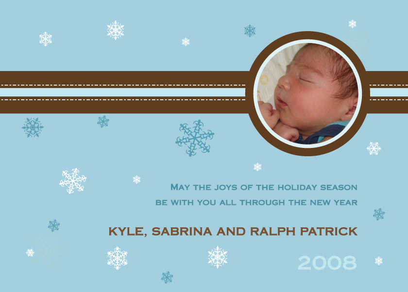 Holiday Birth Announcements – New Years Birth Announcements