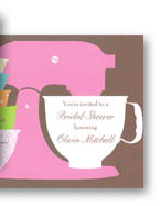 Bridal shower invitations fun kitchen shower invitations for the bride to be who loves to cook filmwisefo