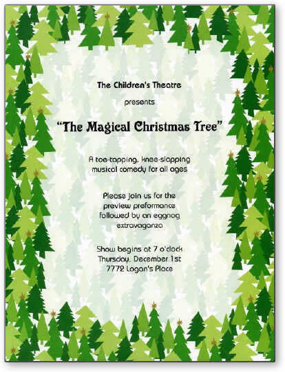 Christmas Writing Paper - Christmas writing papers for special events
