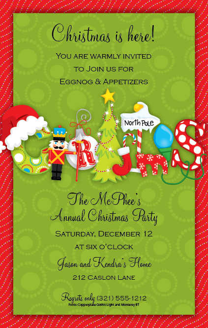 Christmas Open House Invitations Christmas Open House – Christmas Party Invitation Quotes