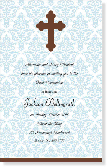 First Holy Communion Invitations | Communion Invitation Cards | Invitation Wordings