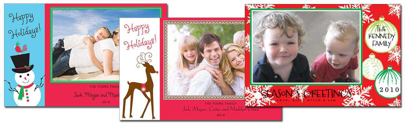 Custom Christmas Cards - Personalized invitations and greeting ...