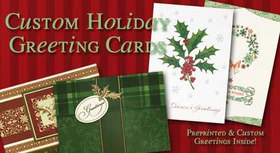 Custom holiday greeting cards m4hsunfo