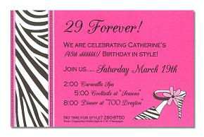 Birthday invitation wording ideas filmwisefo