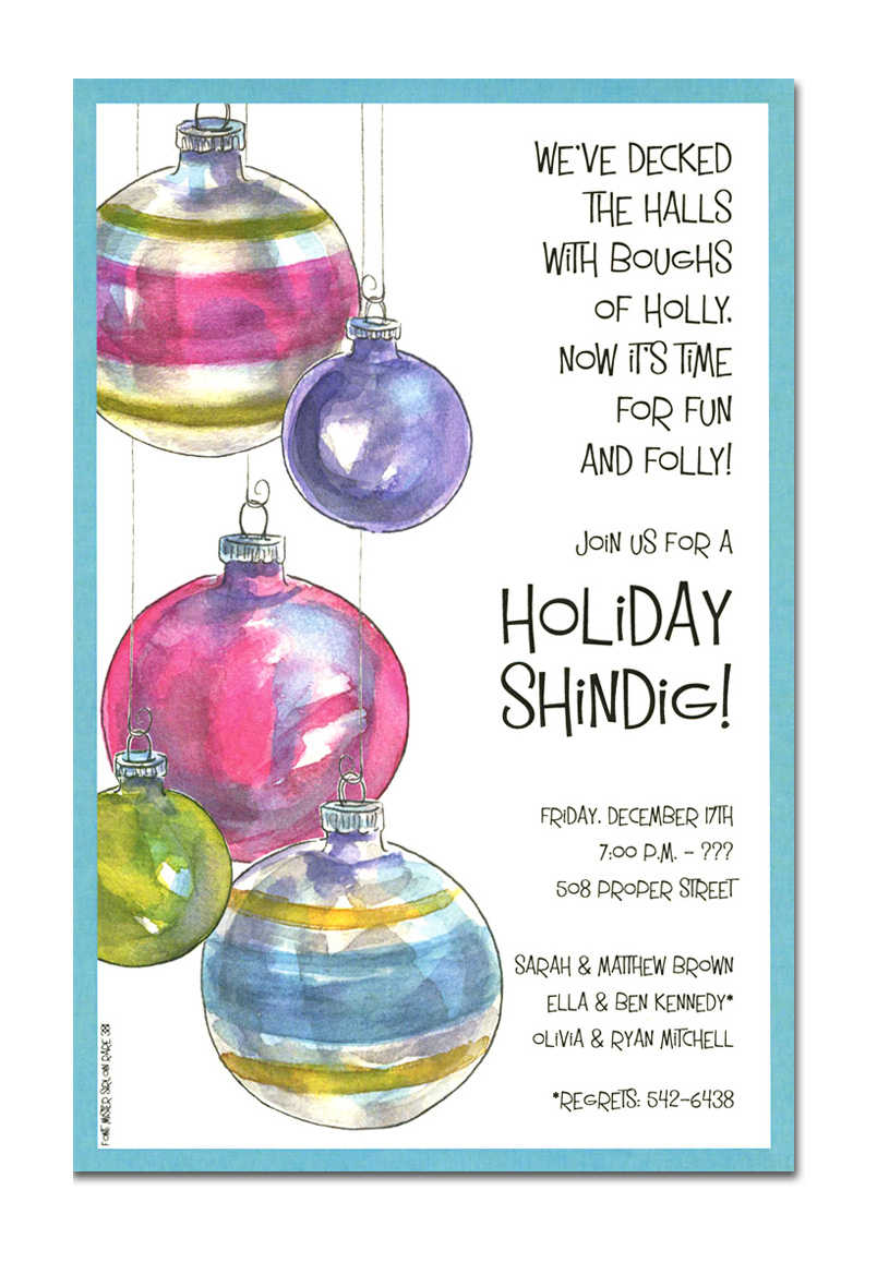 Christmas Party Invites Wording was perfect invitation example