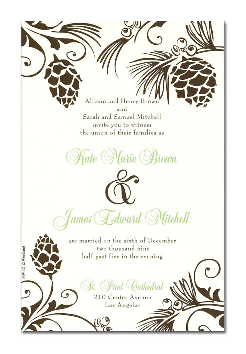 fall invitations
