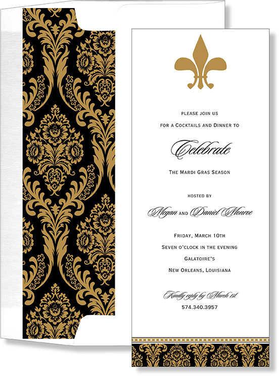 mardi gras invitations | mardi grass party invites, Birthday invitations