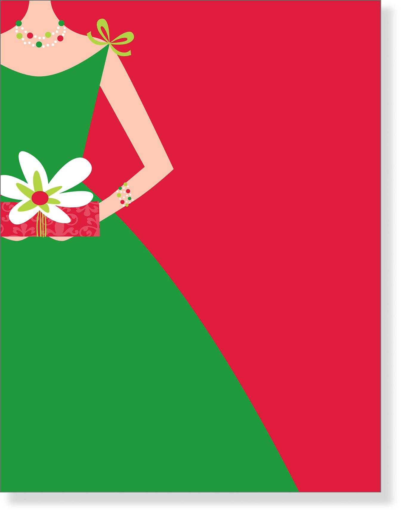 Christmas Stationery - Christmas stationery papers for special events