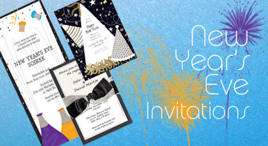 our new years eve themed invitations are perfect for your countdown to january 1st they have fun party themes with confetti and champagne