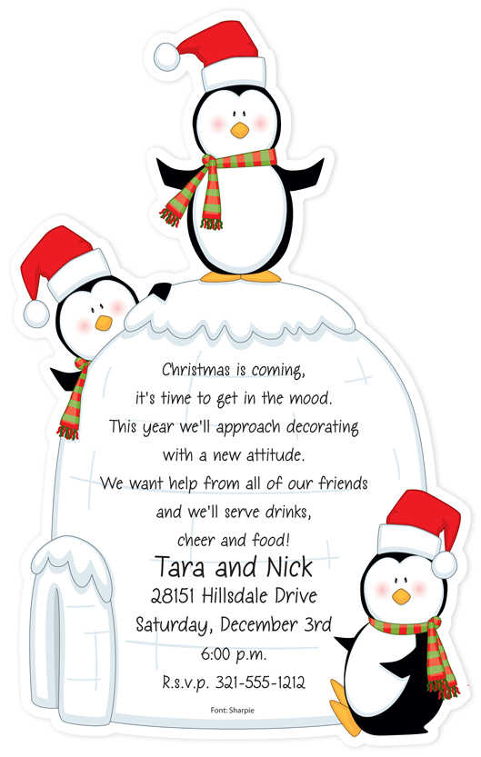Christmas Invitations Christmas Invitations for special events – Funny Christmas Party Invitation Wording