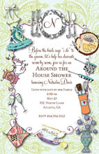 tailor your bridal shower to fit your bride to be there are so many common variations finding a bridal shower invitation to fit your theme is easy