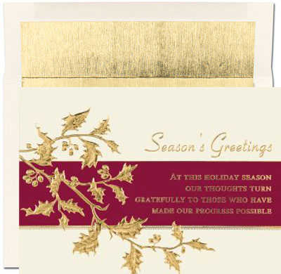 Corporate holiday greeting cards corporate greeting cards for the features m4hsunfo