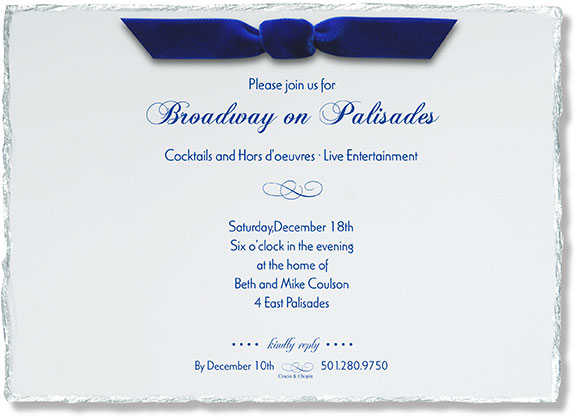 invitations to generic border designs on the highest quality card stock.