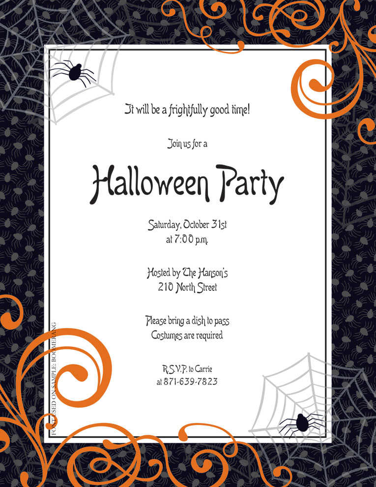 Black and White Halloween Scrapbook Paper