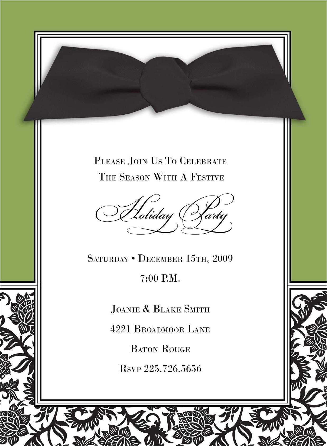 doc 540210 invitation card event professional events free