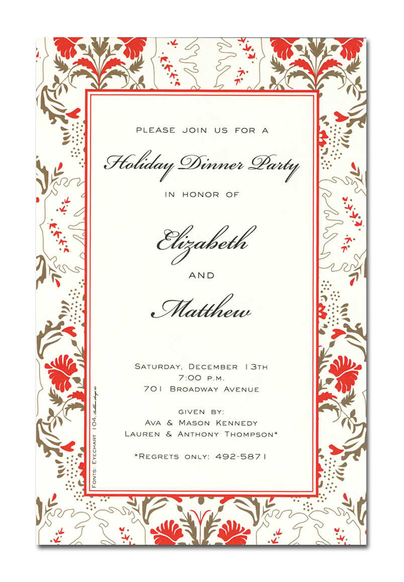 Christmas Open House Invitations - Christmas Open House Invitations ...